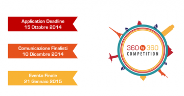 360by360Competition 2nd edition: the call for ideas is now open!